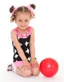 trochę balowa dziewczyna Zdjęcie Stock