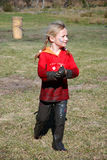 trochę brudna dziewczyno Fotografia Stock