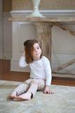 trochę ciekawa dziewczyna Obraz Stock