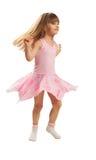 trochę dancingowa dziewczyna Zdjęcie Stock