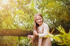 trochę lasowa dziewczyna Obrazy Stock