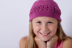 trochę smily dziewczyna Obrazy Royalty Free