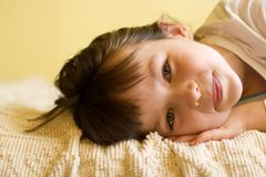 trochę słodka dziewczyna Fotografia Royalty Free