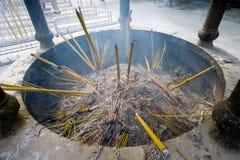 Trociczki w świątyni w Hong Kong obraz stock