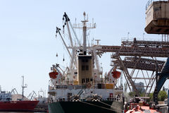 Trocken-Fracht loadind Lizenzfreies Stockbild