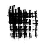 Trockene Bürste schürt horisontal und vertikales lizenzfreie abbildung