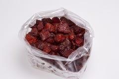 Trockene Erdbeeren Lizenzfreie Stockfotos
