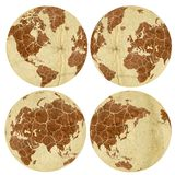 Trockene Erde Stockfotos