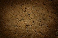 Trockene Erde mit Sprunghintergrund Lizenzfreie Stockbilder