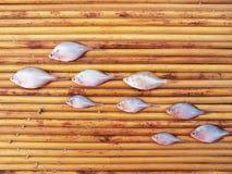 Trockene Fische Stockfotos