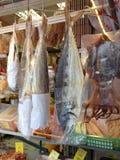 Trockene Fische Tai O Stockfotos