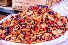 Trockene Früchte der Markt Lizenzfreie Stockbilder