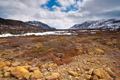 Trockene Gebirgsregionlandschaft. Lizenzfreie Stockbilder