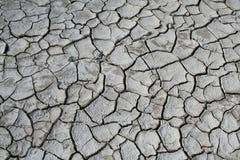 Trockene gebrochene Erde Lizenzfreies Stockfoto