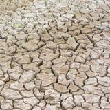 Trockene gebrochene Erde Lizenzfreie Stockfotos