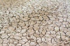 Trockene gebrochene Erde Stockfotos