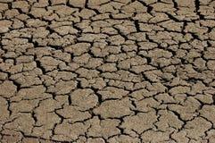 Trockene gebrochene Erde Lizenzfreie Stockfotografie