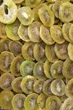 Trockene grüne Kiwi der Ringe Lizenzfreie Stockbilder