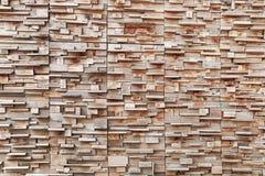 trockene hölzerne Wand für Hintergrund und Design Stockbilder