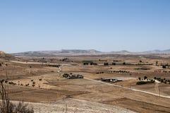 Trockene Landschaft Zyperns stockbilder