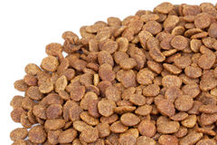 Trockene Nahrung für Haustiere Stockfoto