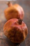 Trockene und alte Granatäpfel Lizenzfreie Stockfotos