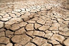 Trockener Boden-Beschaffenheit Stockbilder