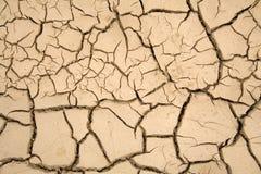 Trockener Boden - globale Erwärmung Lizenzfreie Stockfotos