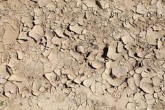 Trockener Boden Kann als Hintergrund verwendet werden Lizenzfreies Stockbild