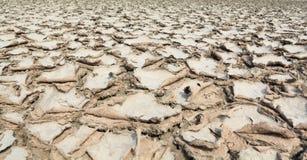 Trockener Boden mit Sprung Stockfotografie