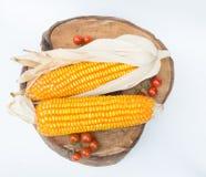 Trockener brauner Mais Lizenzfreies Stockfoto