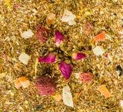 Trockener chinesischer Tee Stockfoto