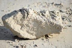 Trockener Felsen in den Ödländern Stockbild