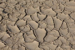 Trockener gebrochener Boden Lizenzfreies Stockbild