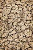 Trockener gebrochener Boden während der Dürre lizenzfreie stockfotografie