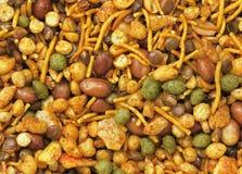 Trockener indischer Snack Stockfotografie