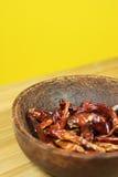 Trockener Paprika Stockbilder
