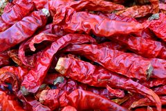 Trockener Paprika-Pfeffer Lizenzfreies Stockfoto