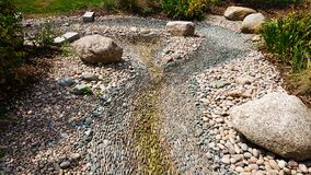 Trockener Riverbed stockfoto