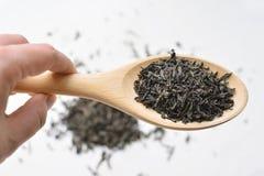 Trockener schwarzer Tee Lizenzfreies Stockbild