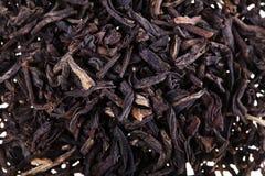 Trockener schwarzer Tee Lizenzfreie Stockbilder