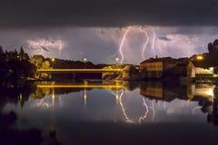 Trockener Sturm Stockfoto