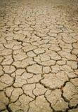 Trockener und gebrochener Erdehintergrund Lizenzfreies Stockbild