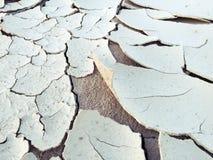 Trockener Wüstenboden Stockbild
