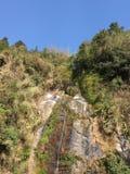 Trockener Wasserfall Stockfotos