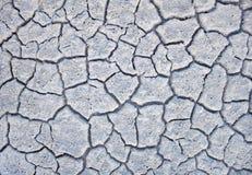 Trockener weißer Boden Lizenzfreie Stockbilder