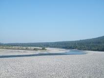 Trockenes Fluss-Bett Lizenzfreies Stockfoto