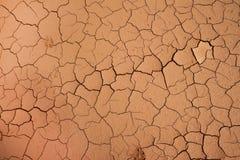 Trockenes gebrochenes im Boden, Bodenbeschaffenheitshintergrund lizenzfreie stockfotos