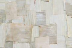 Trockenes Kokosnussblattmuster lizenzfreie stockbilder