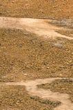 Trockenes Land in der Dürrenkrise Lizenzfreie Stockbilder